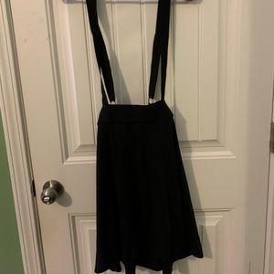 High Waisted, Strap Skirt Vintage 70's 50's 60's
